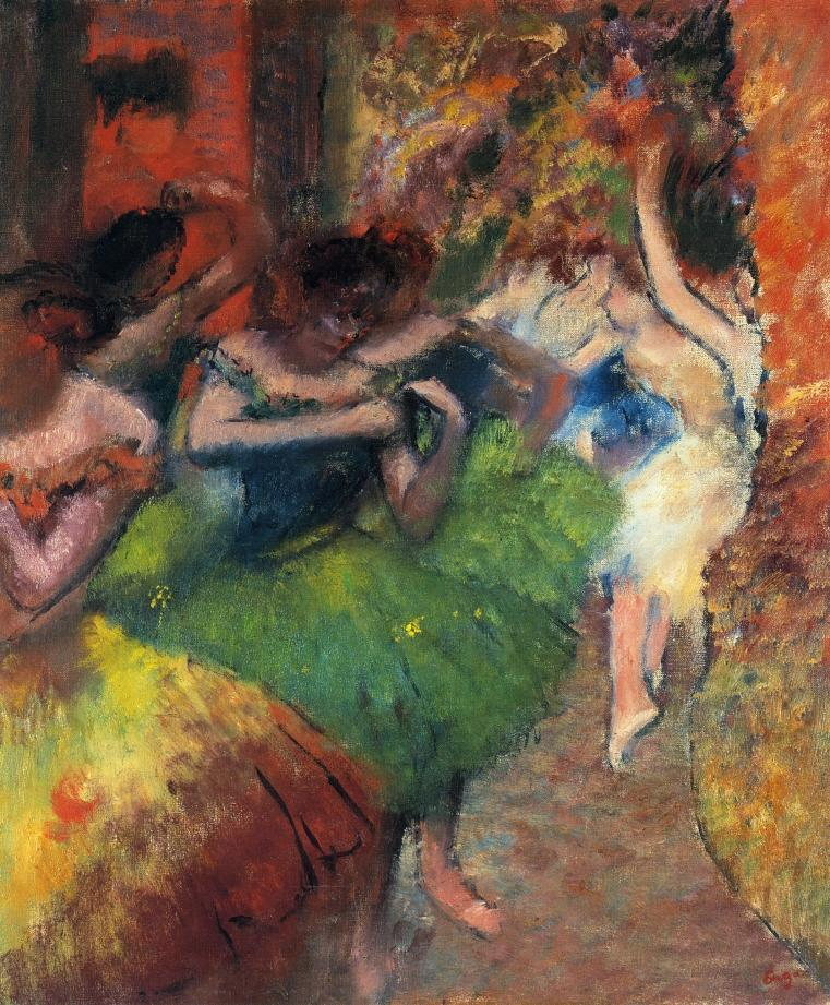 Dancers in the Wings 1885