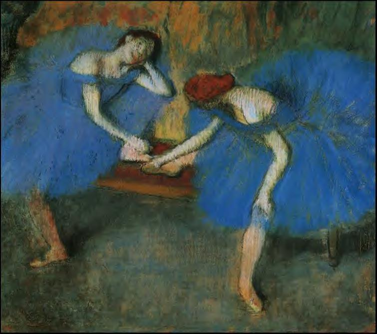 Two Dancers in Blue 1899