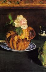 Still Life with Brioche 1880