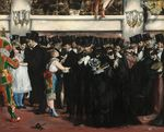 The Masked Ball at the Opera 1873