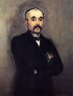 Portrait of Georges Clemenceau 1879