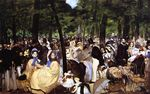 Music in the Tuileries Garden 1862