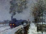 Train in the Snow or The Locomotive