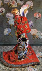 Japan's  or Camille Monet in Japanese Costume