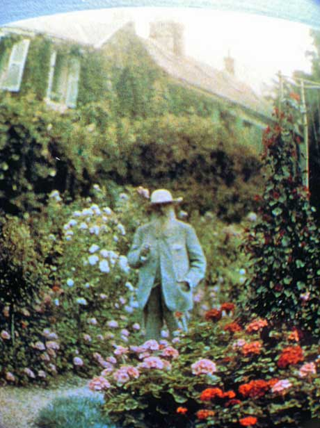 Monet in his Garden, Giverny