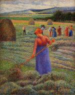 Haymakers at Eragny 1889