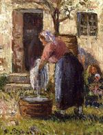 The laundry woman 1898