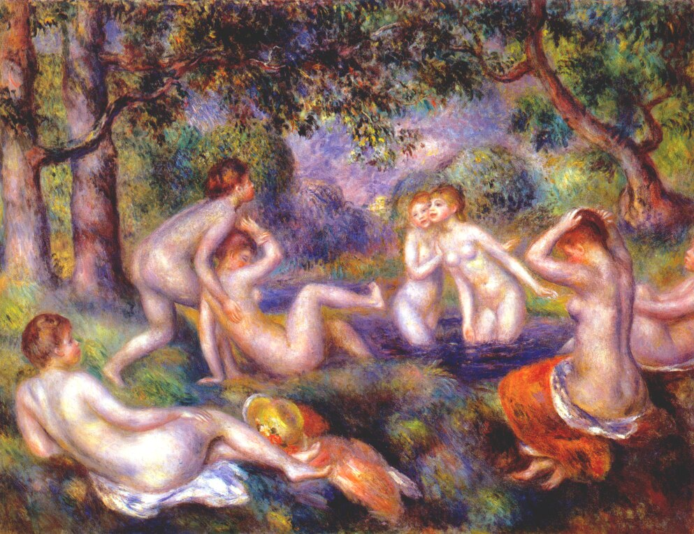 Bathers in the forest 1897