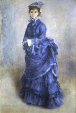 The blue lady 1874