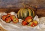 Still life with cantalope and peaches 1905