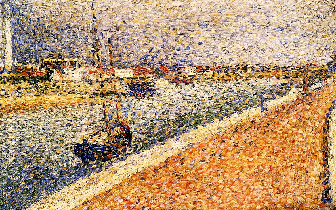 Study for 'The Channel at Gravelines' 1890