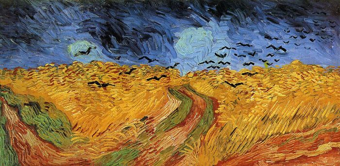 Wheat Field with Crows 1890